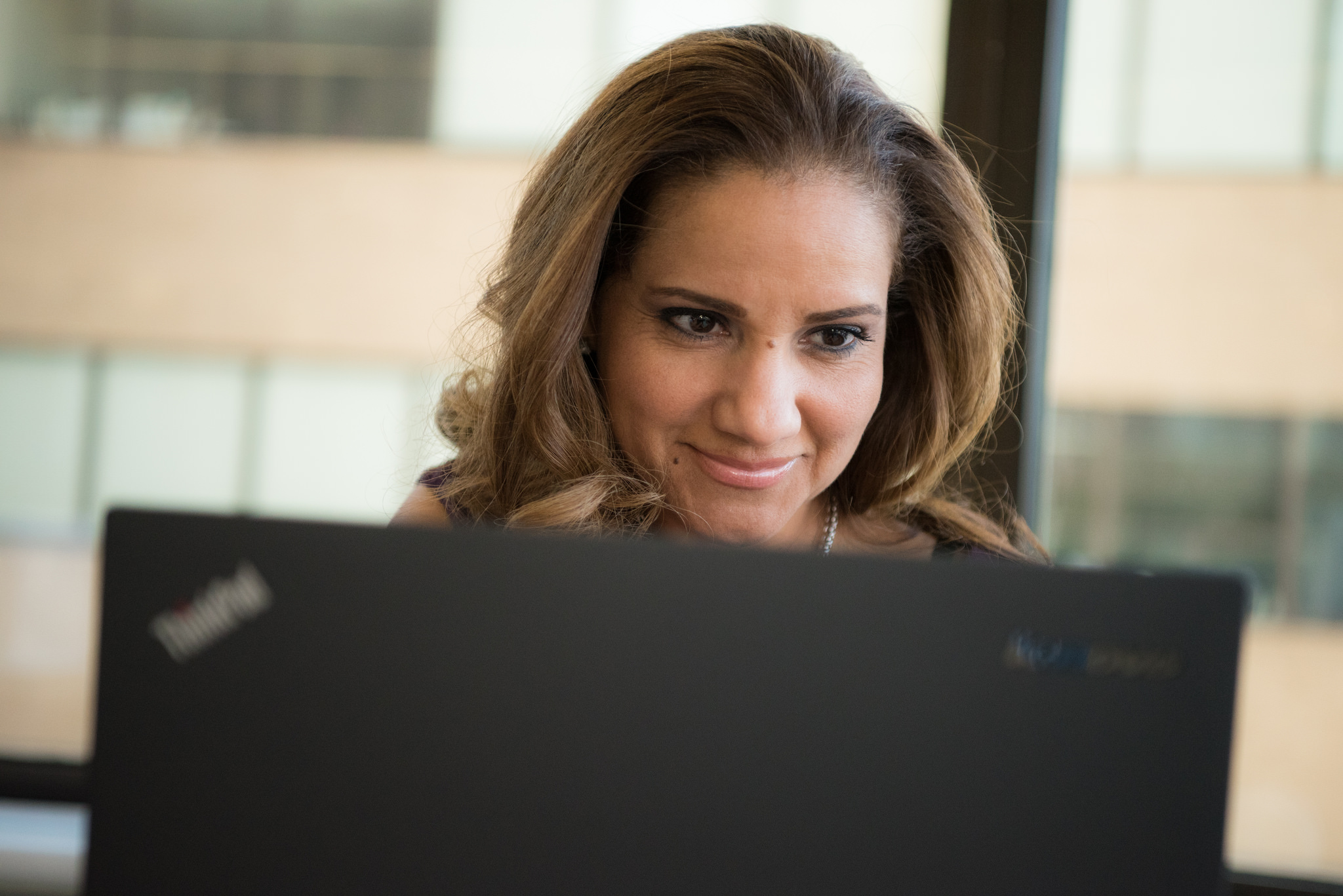 Spring 2018 Career Restart Resources - Woman on Computer